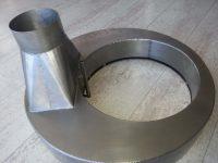 Anneau de Pouyes en acier inoxydable pour aspiration solvant, de fumée ou de poudre volatile