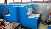 Tables aspirantes autonomes 1.5 mètres bleu pour ponçage