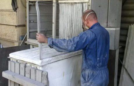 Pièces de rechange pour équipements de ventilation et dépoussiérage