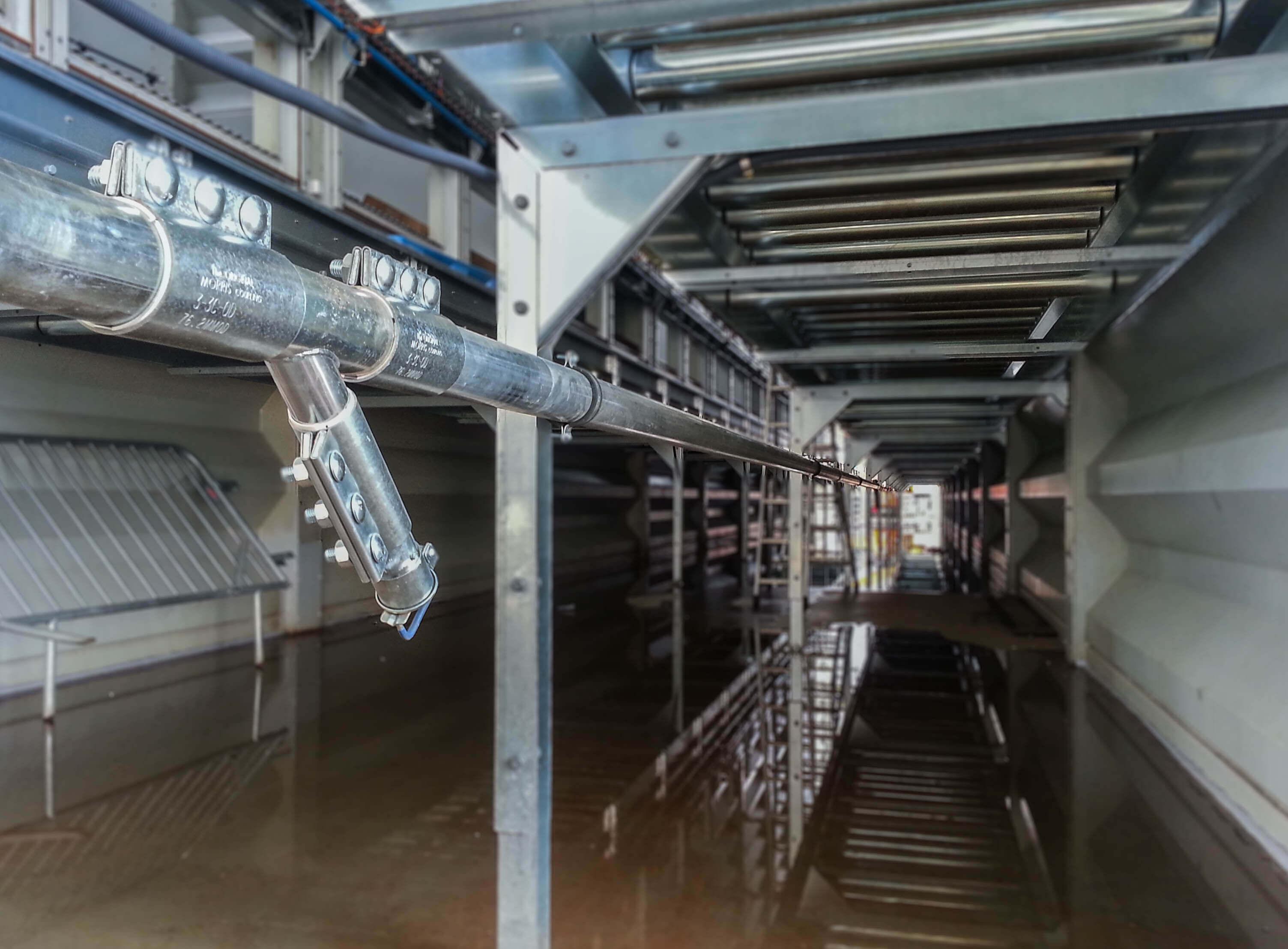 reseau nettoyage centralise