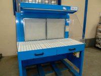 Aspiration de poussière d'aluminium avec surface filtrante haute efficacité.