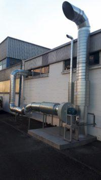 Reseau-gaine-galvanise-aspiration-solvant-ventilateur-ATEX-silencieux