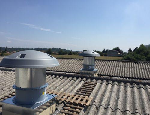 ventilation industrielle atelier