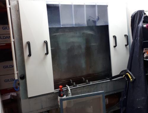ventilation lavage ecran serigraphie a TOULOUSE