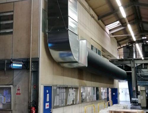 Installation d'un rafraichisseur / climatiseur adiabatique